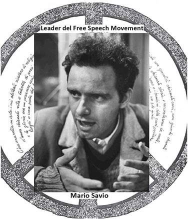Mario Savio, leader del Free Speech Movement