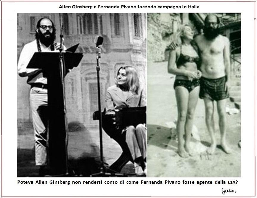 Poteva Allen Ginsberg non rendersi conto di come Fernanda Pivano fosse agente della CIA?