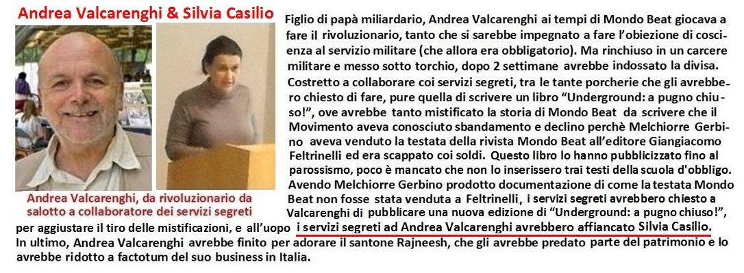 Andrea Valcarenghi in 'Underground:a pugno chiuso!' avrebbe diffamato Melchiorre Gerbino