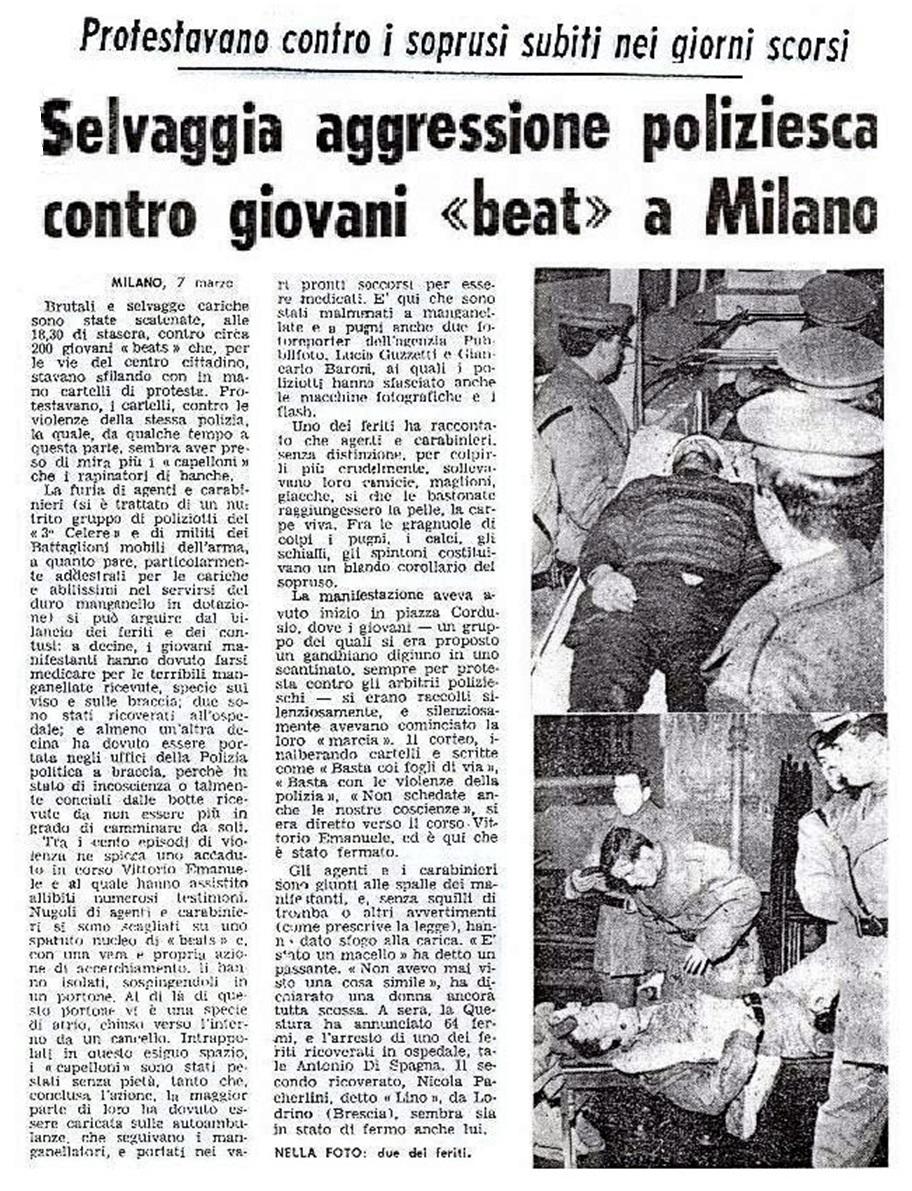 I comunisti speravano d'inglobare il Movimento Mondo Beat, invece Mondo Beat avrebbe fatto svuotare le loro sezioni giovanili