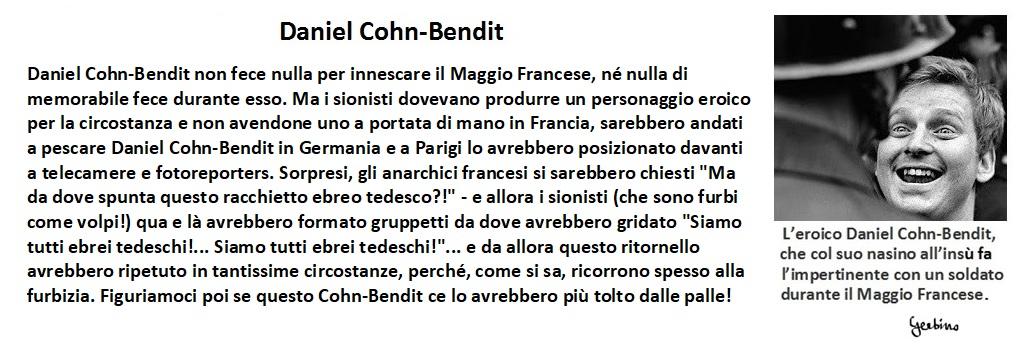 L'eroico Daniel Cohn-Bendit durante il Maggio Francese