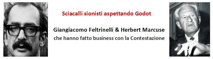 Giangiacomo Feltrinelli promuovendo Herbert Marcuse teorico della Contestazione