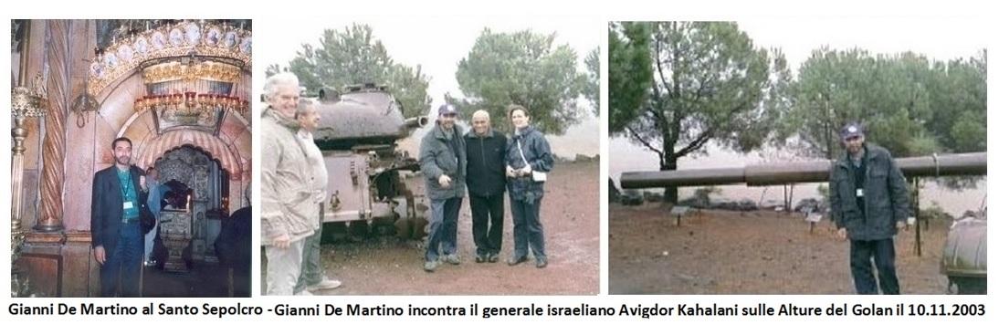 L'agente dei servizi segreti italiani in Israele e Territori Occupati nell'anno 2003