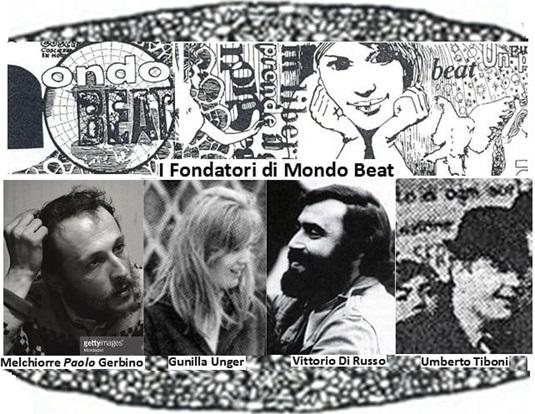 I fondatori del Movimento Mondo Beat