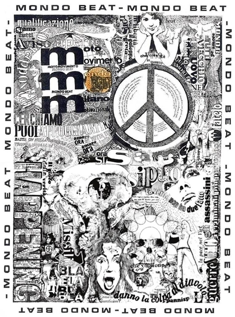 Chronologically, Gio Tavaglione's Manifesto di Mondo Beat is the first manifesto of the Italian counterculture