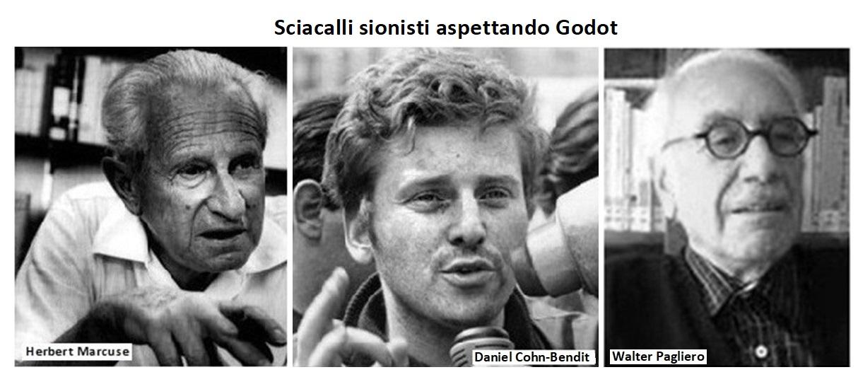 Sciacalli sionisti aspettando Godot