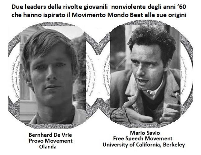 Bernhard De Vrie e Mario Savio: originalità di pensiero e azione