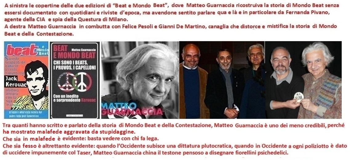 Matteo Guarnaccia sulla storia di Mondo Beat e della Contestazione: una miscela di stupidaggine e malevolenza