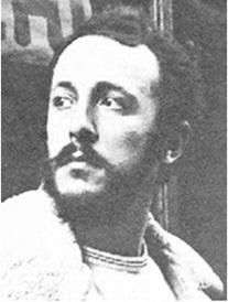 Melchiorre Gerbino, direttore della rivista Mondo Beat e leader dell'omonimo movimento