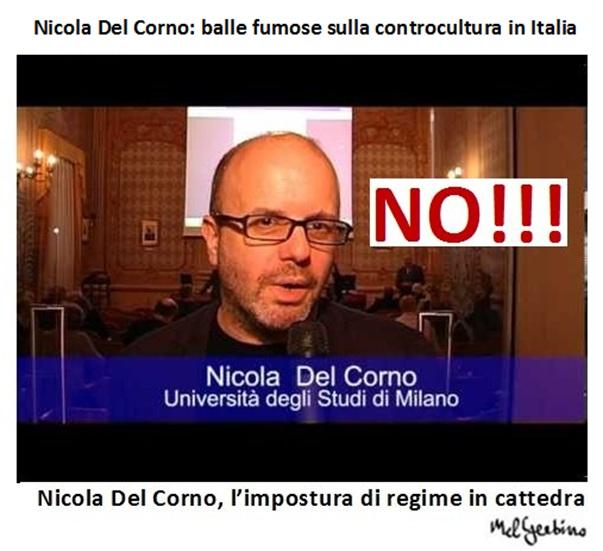 Nicola Del Corno: balle fumose sulla controcultura in Italia
