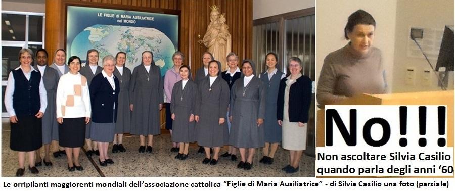 La creatura del Vaticano, Silvia Casilio, e le sue consorelle