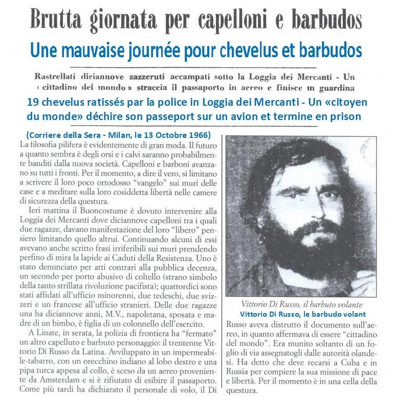 Vittorio Di Russo etait un activiste du Mouvement Provo en Hollande