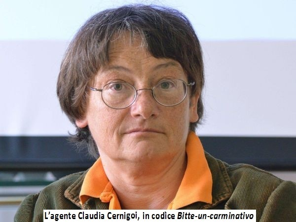 La spia anti-slava Claudia Cernigoi