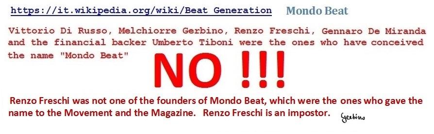 Renzo Freschi  is an impostor