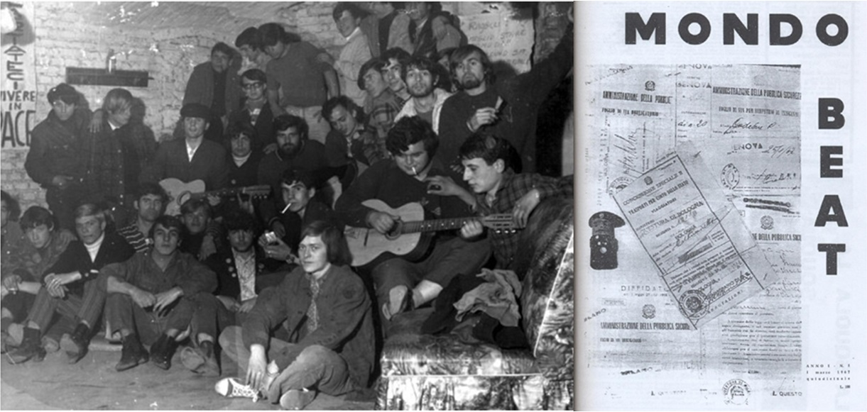 The Base of Mondo Beat was international, the vast majority of youths were Italian, then French