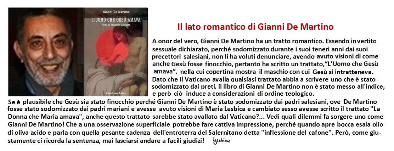 Il Gianni De Martino sentimentale