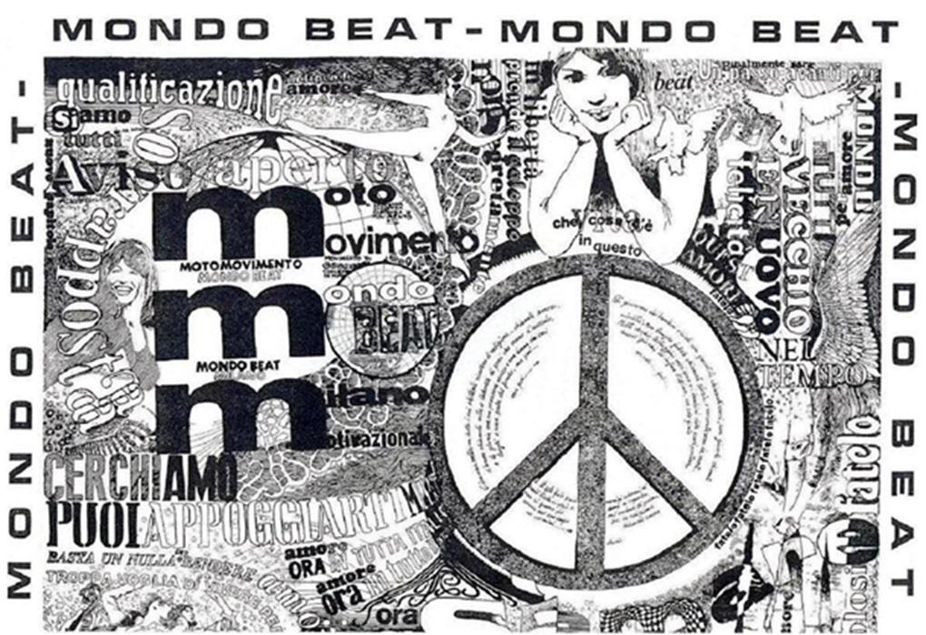 Metà del Manifesto di Mondo Beat di Giò Tavaglione fu stampata in 6.000 esemplari di questo numero, e l'altra metà negli altri 6.000.