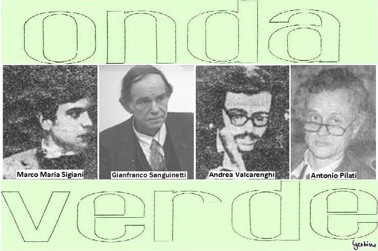 Marco Maria Sigiani and Andrea Valcarenghi in vintage photos, Gianfranco Sanguinetti and Antonio Pilati in more recent photos