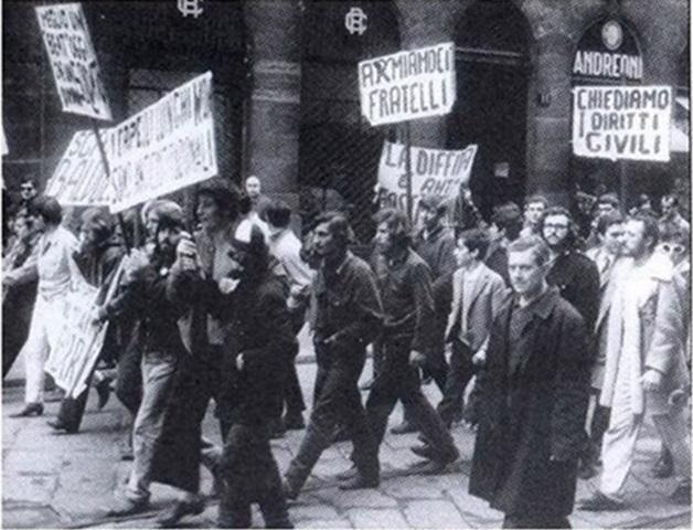Mondo Beat demonstration of April 8, 1967