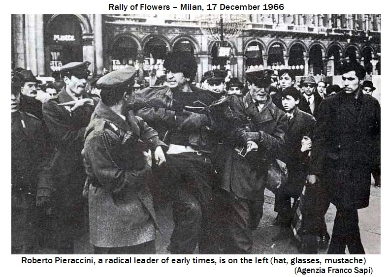 Roberto Pieraccini and Pietro Stoppani were the two most prominent Milanese radicals