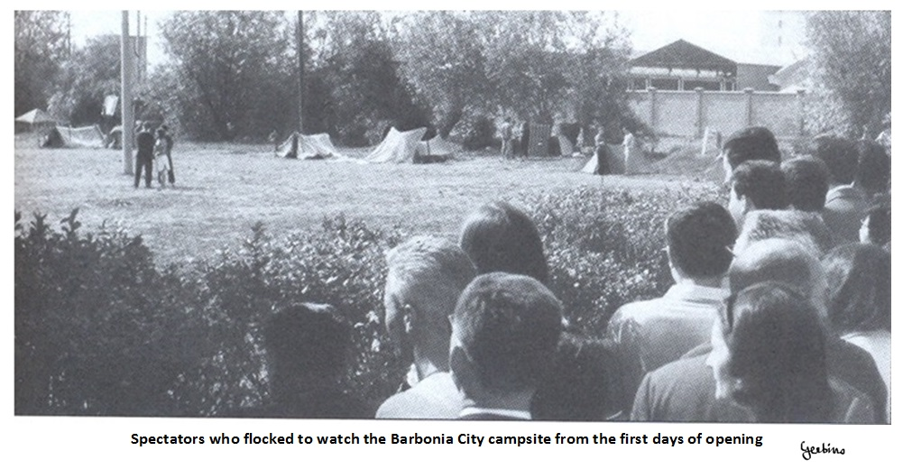 Onlookers came from afar, since Barbonia City was located in the fields