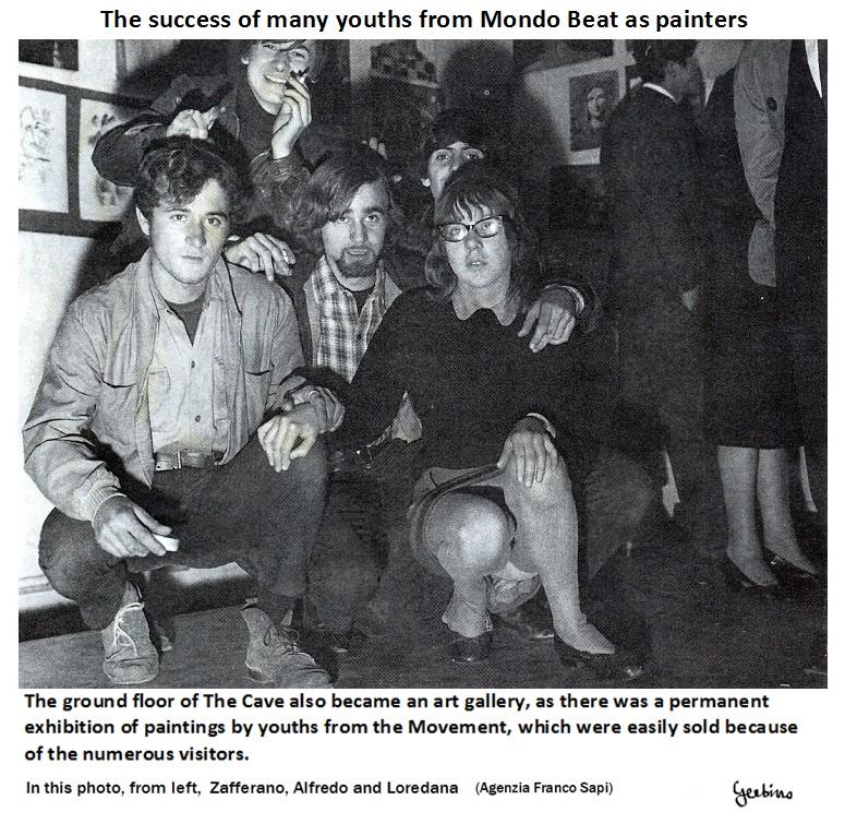 In this photo, from left, Zafferano, Alfredo and Loredana