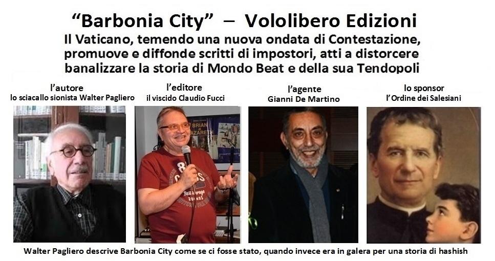 Barbonia City, scritto per trivializzare e confondere la memoria di Mondo Beat