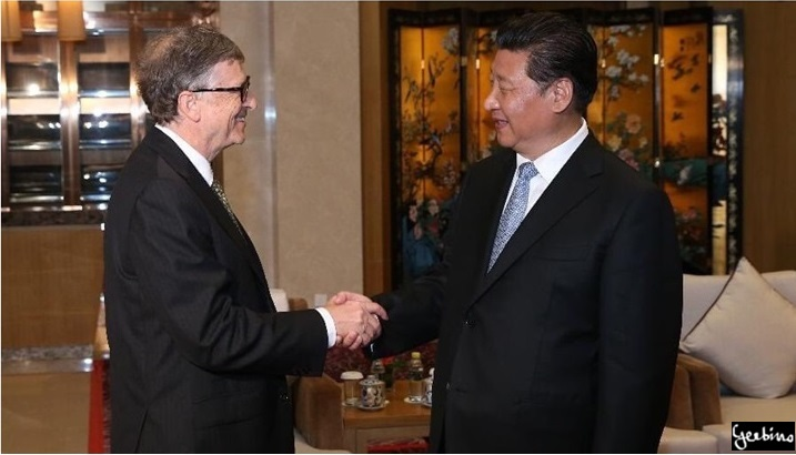 Bill Gates in cahoots with Xi Jinping?