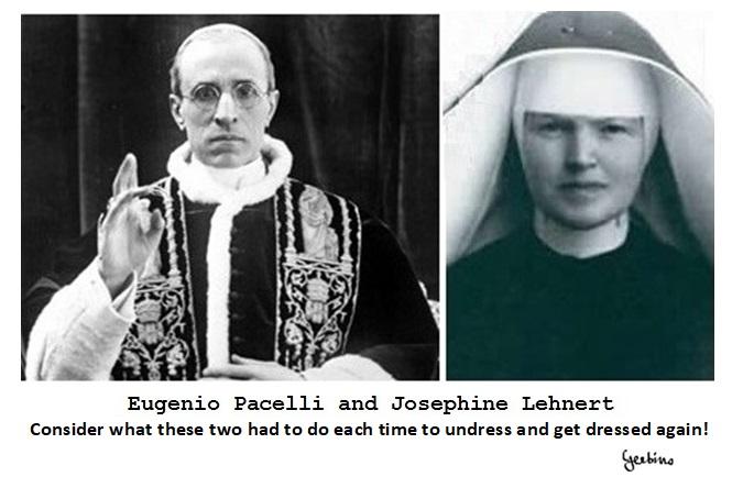 Pius XII and Sister Pascalina