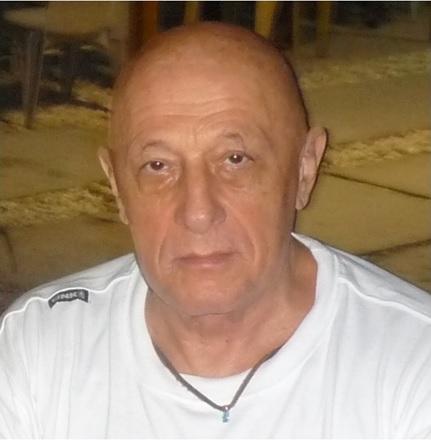 Melchiorre Gerbino nell'Atollo di Tarawa nel 2009