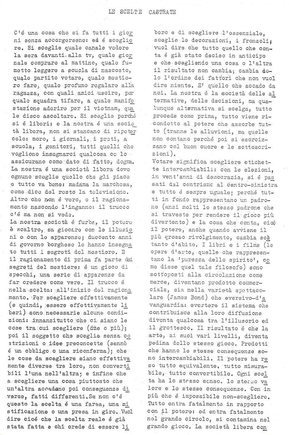 The second issue of Mondo Beat magazine - Edition 5,200 copies - Milan, December 30, 1966